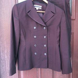 Amanda Smith Petites 2 pc Skirt Suit Jacket 2P